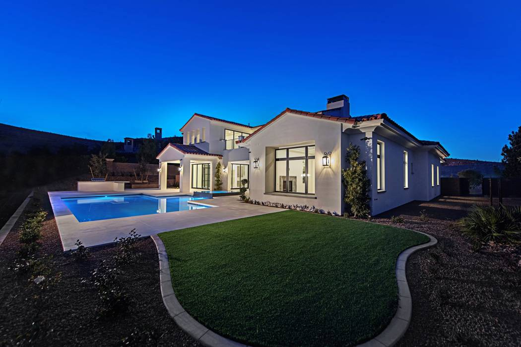 The home sits on a 0.59-acre lot. (Canyon Creek Custom Homes)