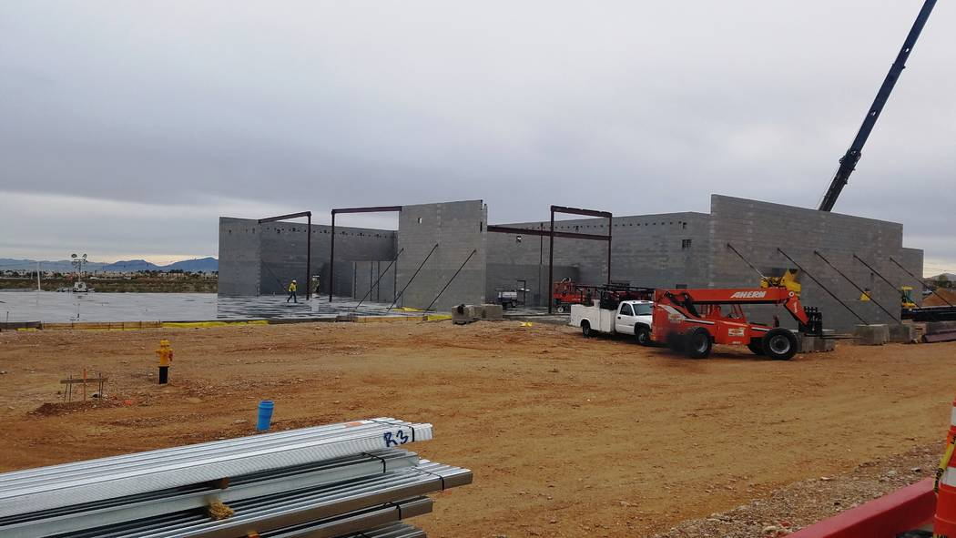 Findlay Automotive Jaguar Land Rover Las Vegas is currently under construction near the 215 Beltway in the southwest valley.