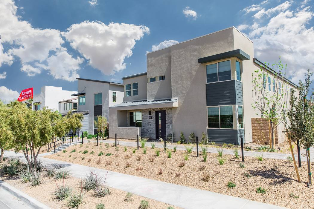 The new Strada Plan Four, pictured, debuts April 7 at Pardee Homes' Strada in Inspirada and showcases interior design by award-winning celebrity designer Bobby Berk.(Pardee Homes)