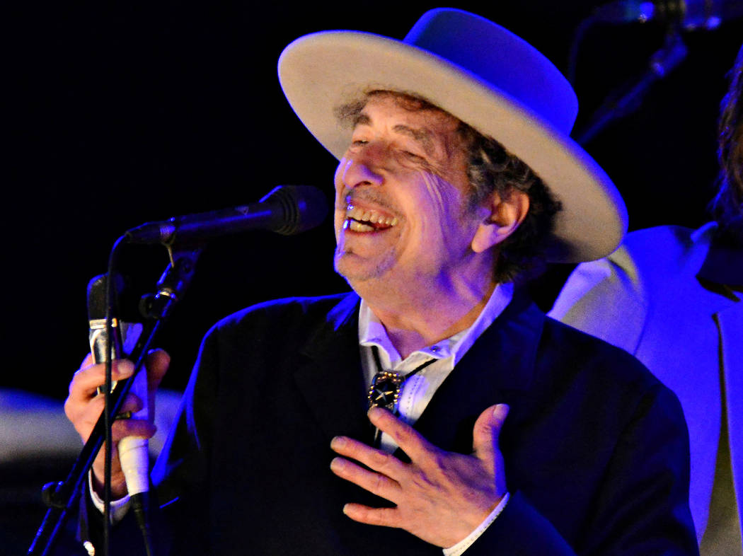 U.S. musician Bob Dylan performs during on day 2 of The Hop Festival in Paddock Wood, Kent on June 30th 2012. (Ki Price Reuters)
