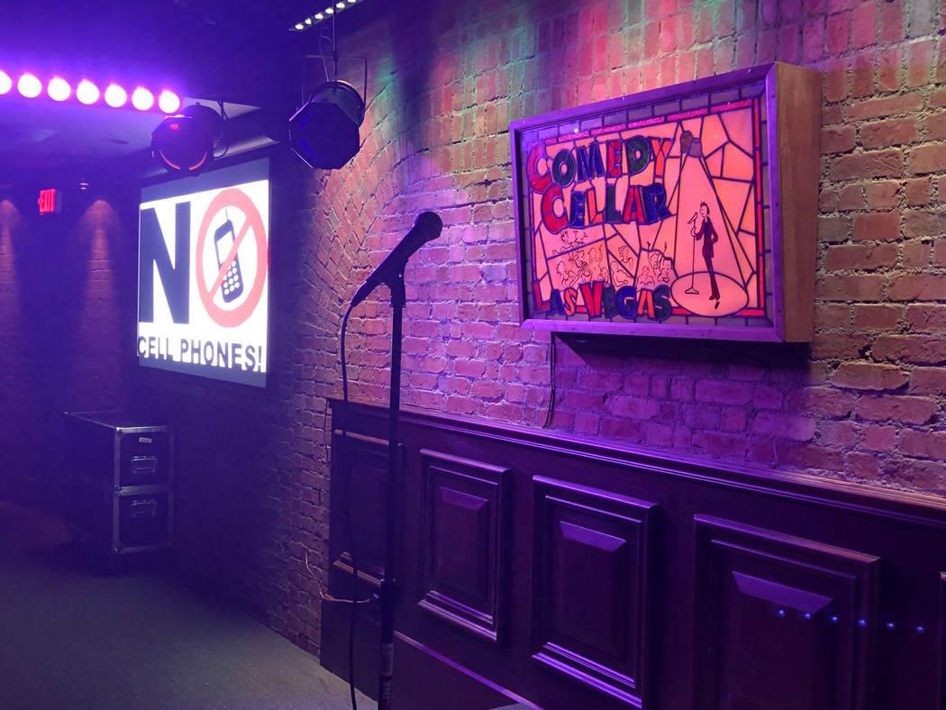 Comedy Cellar at the Rio is shown on Wednesday, April 4, 2018. (John Katsilometes/Las Vegas Review-Journal) @JohnnyKats