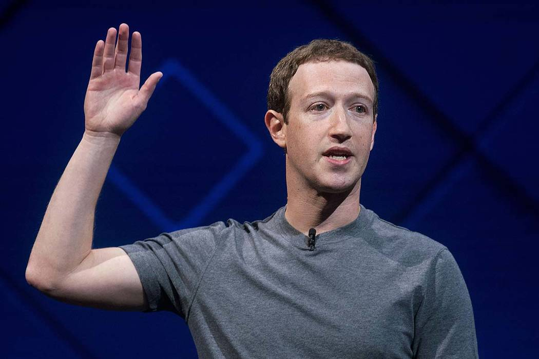 In this April 18, 2017 file photo, Facebook CEO Mark Zuckerberg speaks at his company's annual F8 developer conference in San Jose, California. The leaders of a key House oversight committee say Z ...