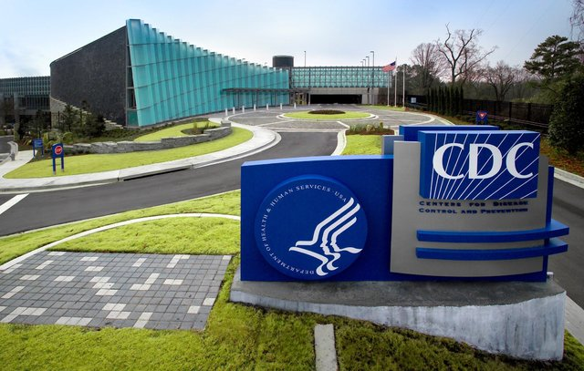 "This image depicts the exterior of CDC's ""Tom Harkin Global Communications Center"" located on the organization's Roybal Campus in Atlanta, Georgia. (CNN)"