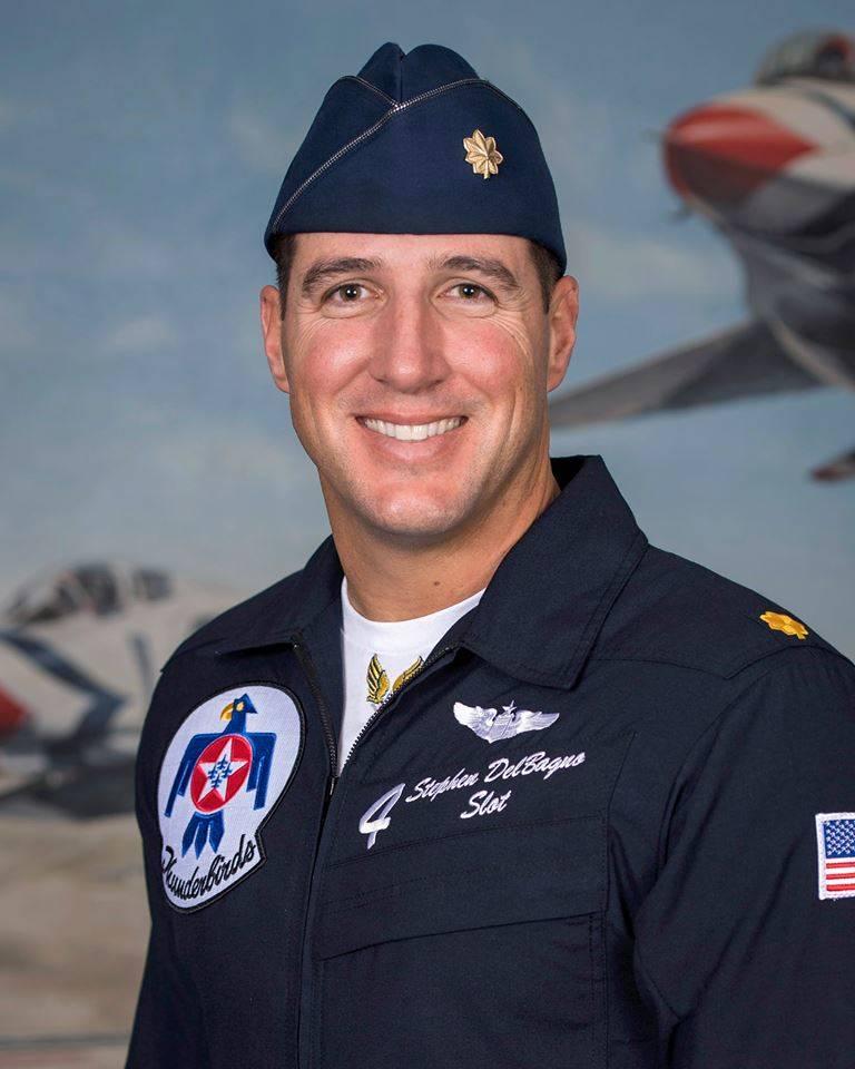 """Maj. Stephen """"Cajun"""" Del Bagno. (U.S. Air Force)"""