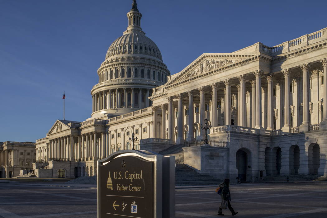 The U.S. Capitol in Washington, D.C. (J. Scott Applewhite/AP)