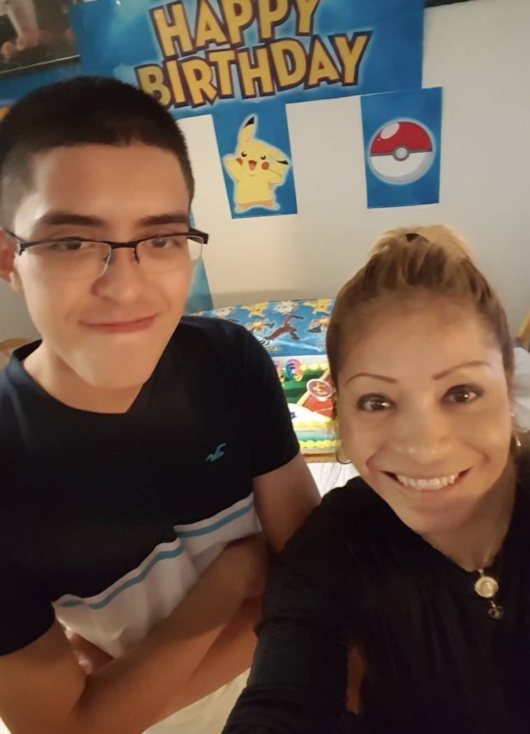 Ricardo Avelar-Gomez and his mother, Cecilia Gomez. Gomez was detained by Immigration and Customs Enforcement when she showed up to an appointment regarding legal permanent residence on March 27.  ...