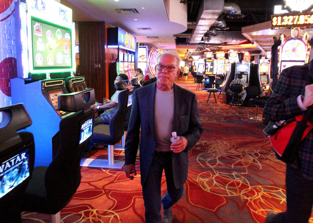 George Ruff, founder and senior principal of Trinity Hotel Investors L.L.C., at Hooters Hotel Thursday, April 5, 2018. K.M. Cannon Las Vegas Review-Journal @KMCannonPhoto
