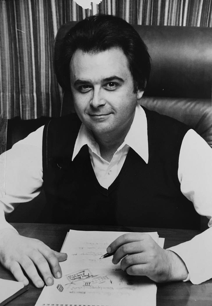 This undated file photo shows Kent Oram. (Las Vegas Review-Journal file)