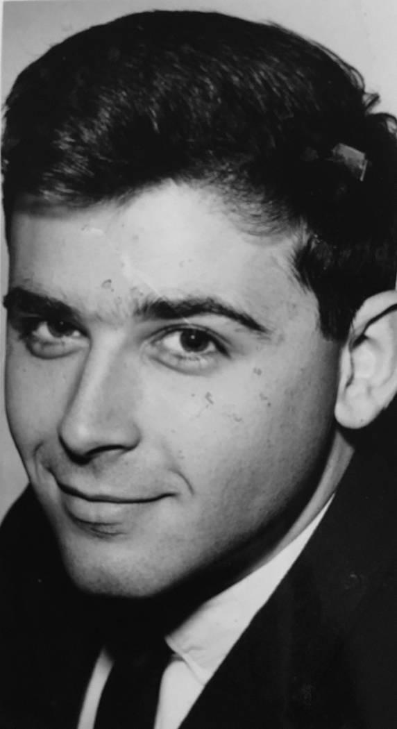 This Aug. 28, 1964, file photo shows R. Kent Oram. (Las Vegas Review-Journal)