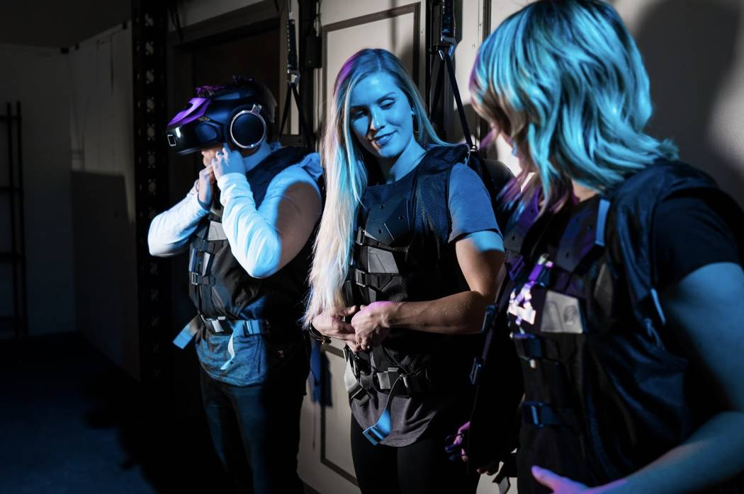 """A new """"Star Wars"""" virtual reality attraction opens on the Las Vegas Strip later this month. The attraction will be inside the Grand Canal Shoppes at The Venetian and Palazzo. (The Void)"""