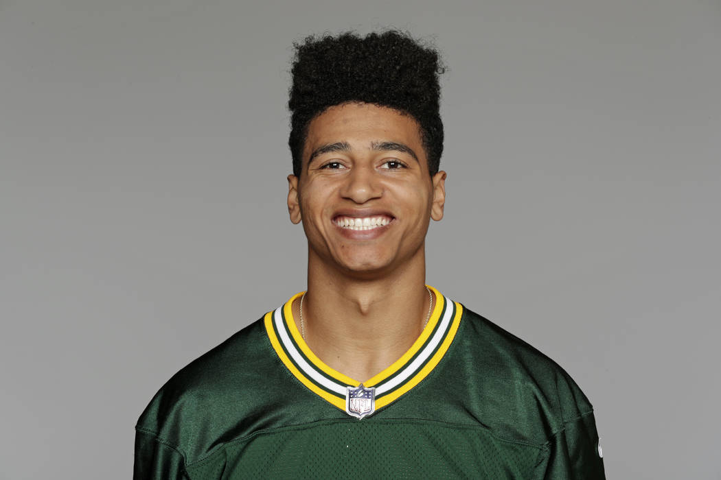 This 2017 file photo shows Trevor Davis of the Green Bay Packers NFL football team. (AP Photo/File)