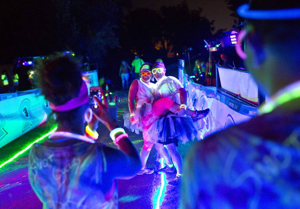 Dress up and glow at night for organ donation at the Hope Glows 5K Fun Run and Walk at Mountain's Edge Exploration Park on April 21. (Mountain's Edge)