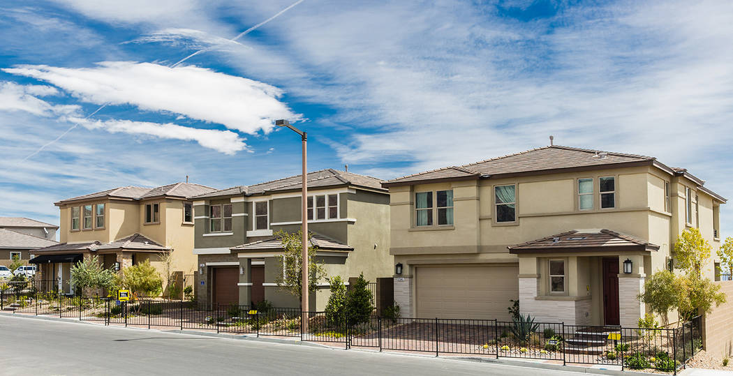 Caledonia by KB Home is in Stonebridge, one of the newest villages in Summerlin. (KB Home)
