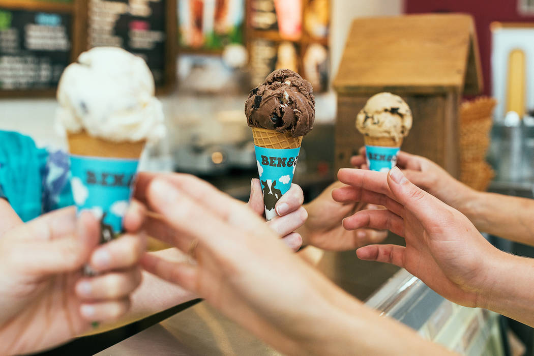 Get a free ice cream cone Tuesday at Ben & Jerry's stores. (Ben & Jerry's)