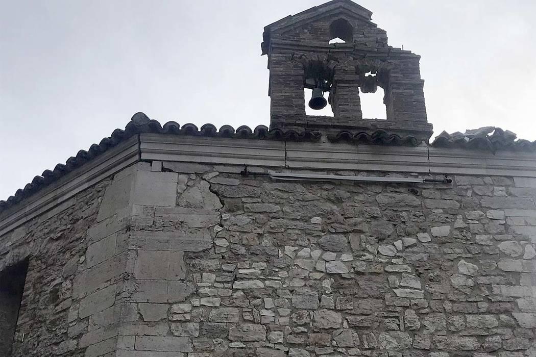 4.7 magnitude natural disaster hits central Italy