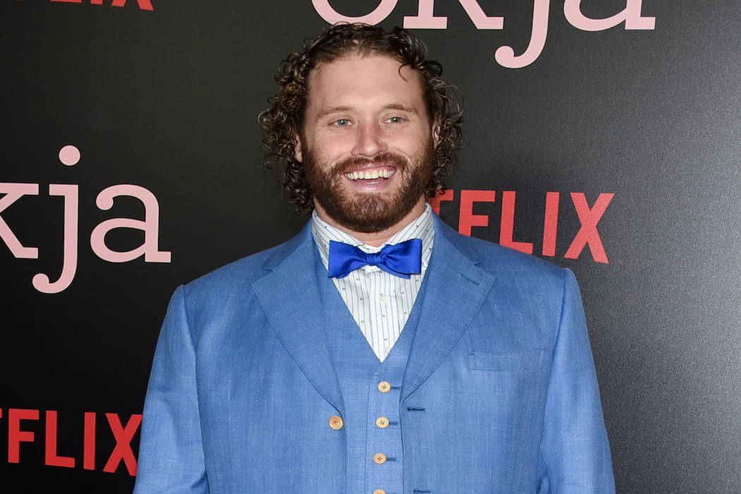 """Actor T.J. Miller attends the premiere of Netflix's """"Okja"""" at AMC Loews Lincoln Square on Thursday, June 8, 2017, in New York. (Photo by Evan Agostini/Invision/AP)"""