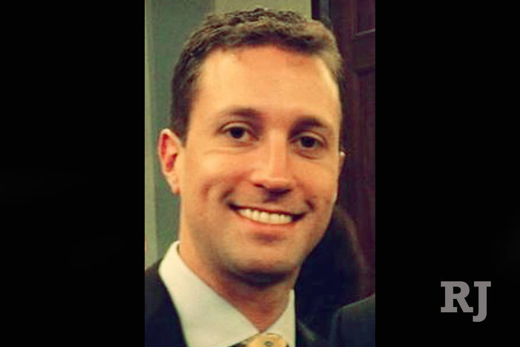 GOP consultant Benjamin Sparks (Photo obtained by Las Vegas Review-Journal)