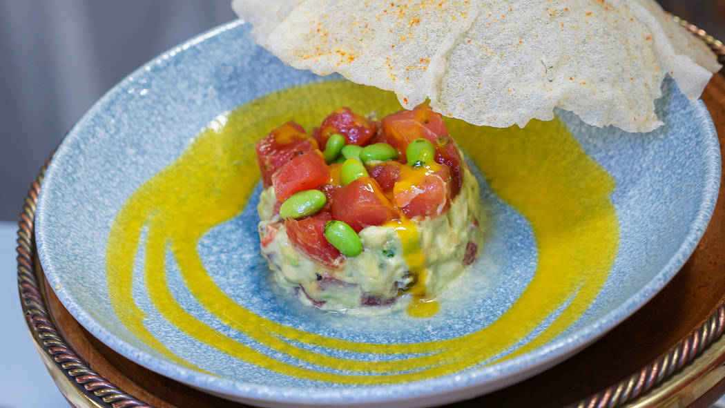 Delicious eats will include tuna poke at Cove Bar (March 16 to end of May) and then when the location transforms to Lamplight Lounge opening June 23, 2018 in Disney California Adventure park. (Dis ...