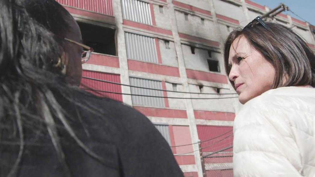 Kym Worthy, Mariska Hargitay. photo: HBO