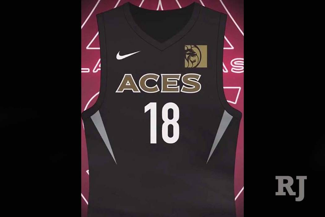 aad476a0c Las Vegas Aces unveil uniforms ahead of WNBA draft | Las Vegas ...