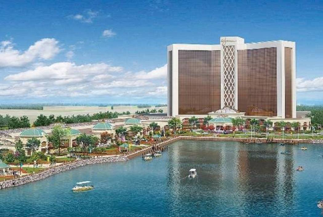 Wynn Boston Harbor is scheduled to be complete in June 2019. (Wynn Resorts Ltd.)