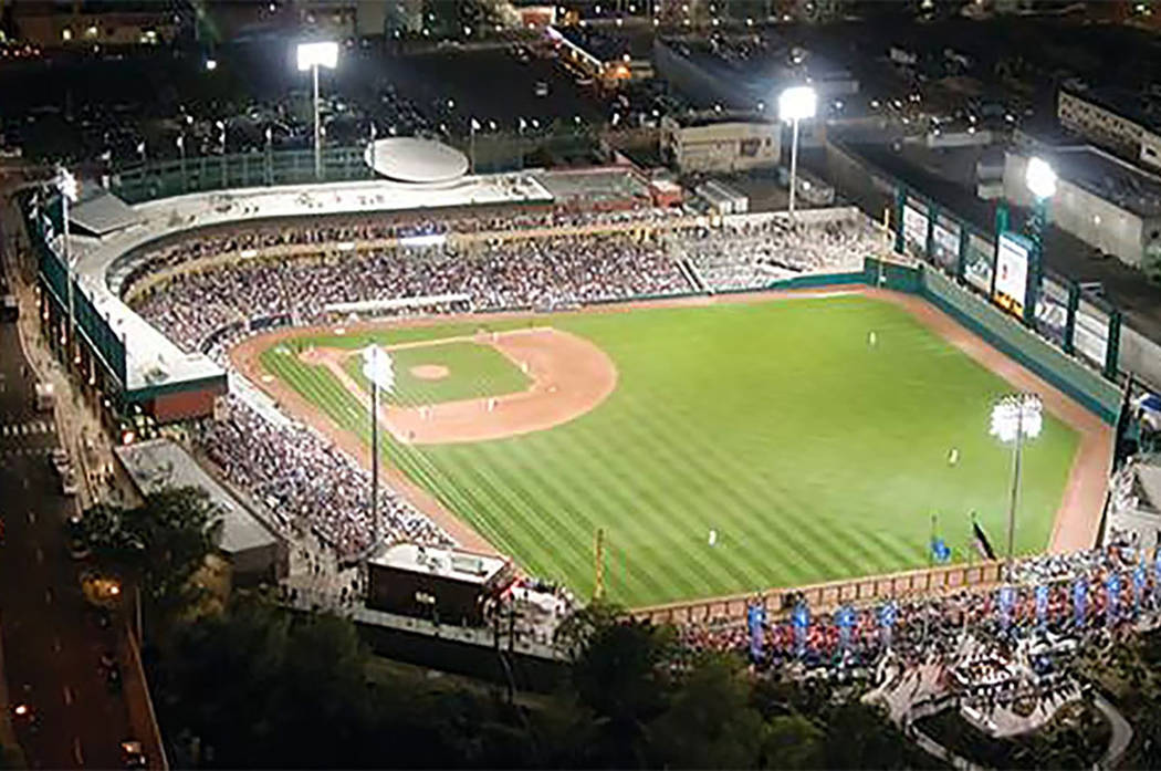 Greater Nevada Field in Reno (from Facebook)