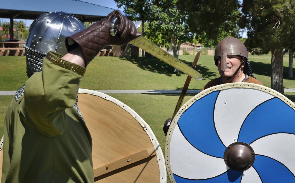 Sword fighting a look into Viking culture | Las Vegas Review