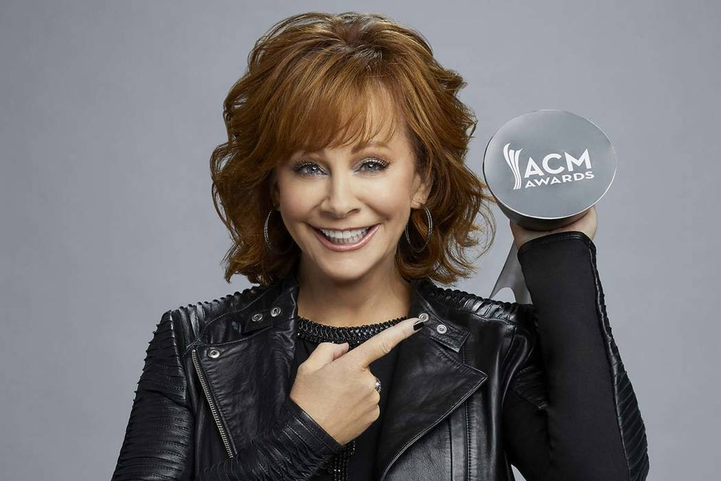 Reba McEntire, host of The 53rd Academy of Country Music Awards, which will be broadcast live from the MGM Grand Garden Arena in Las Vegas Sunday, April 15 (8-11 p.m. live ET/delayed PT) on CBS. P ...