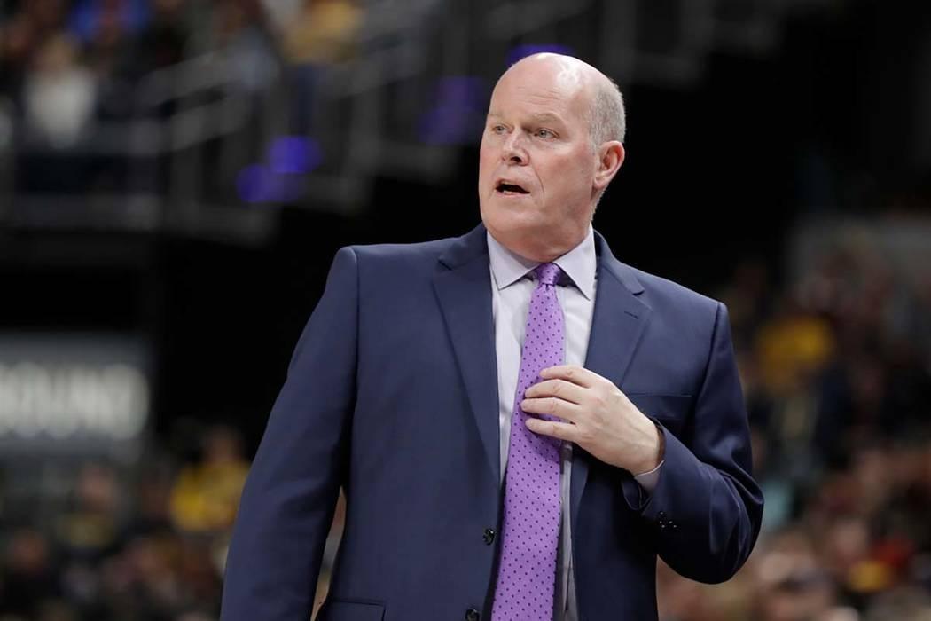 Charlotte on Friday, April 13, 2018, fired head coach Steve Clifford. (Darron Cummings/AP)