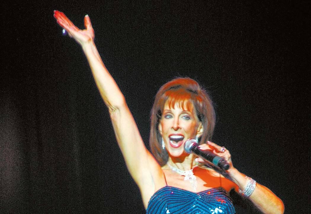 Deana Martin in concert. (Courtesy photo)