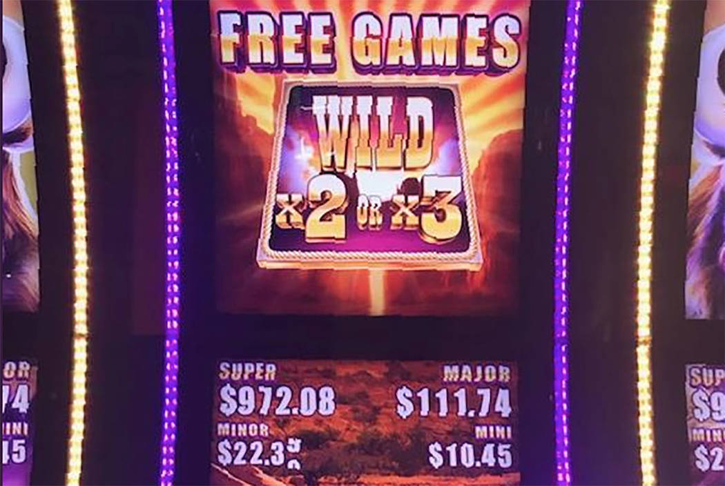 Buffalo slot machine (from The Orleans on Twitter)