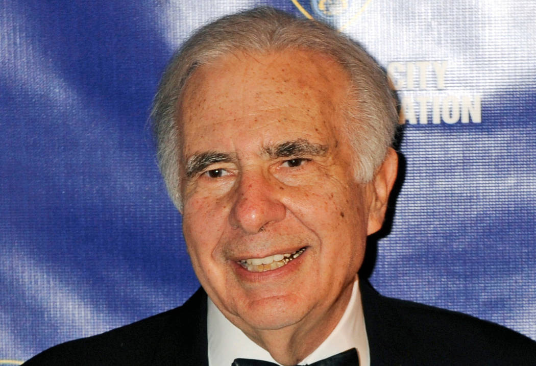 Financier Carl Icahn's company has struck an approximately $1.85 billion deal that would fuse the gaming and hotel operations of Tropicana Entertainment to Eldorado Resorts Inc. (Henny Ray Abram ...