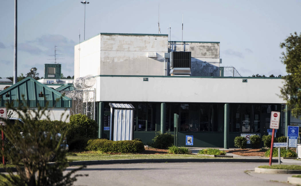 This shows the Lee Correctional Institution on Monday, April 16, 2018, in Bishopville, S.C. Multiple inmates were killed and others seriously injured amid fighting between prisoners inside the max ...