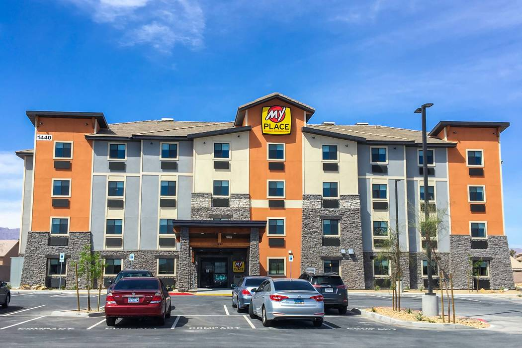 My Place Hotels of America have opened a four-story, 63-room property at 1440 E. Craig Road. (My Place Hotels of America)