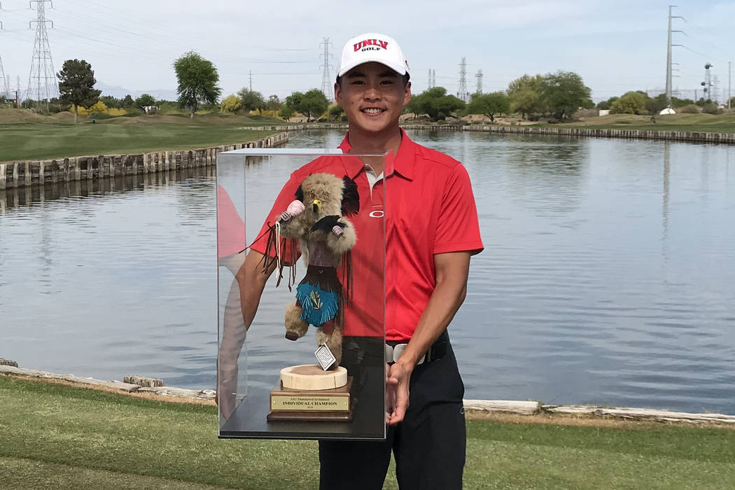 UNLV senior Shintaro Ban was co-medalist at the Arizona State Thunderbird Invitational last week, his third victory this year and fourth of his career. He is also the third Rebel in history to be ...