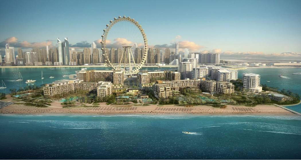 Caesars Entertainment Corp. announced plans to manage two luxury hotels and a beach club in Dubai. (Caesars Entertainment Corp.)