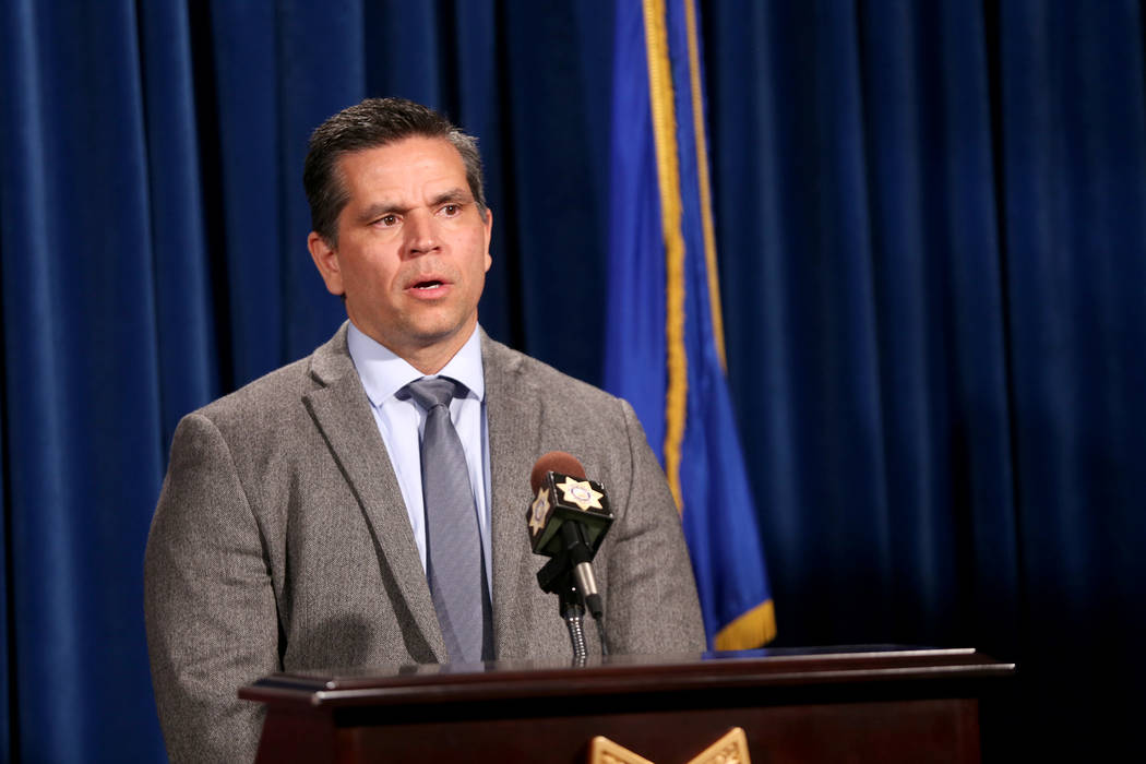 Supervisory Special Agent Jose Perez discusses the violent incident that took place Sunday night at Sunset Park where a woman was killed and a man critically injured at a company picnic for the Ve ...