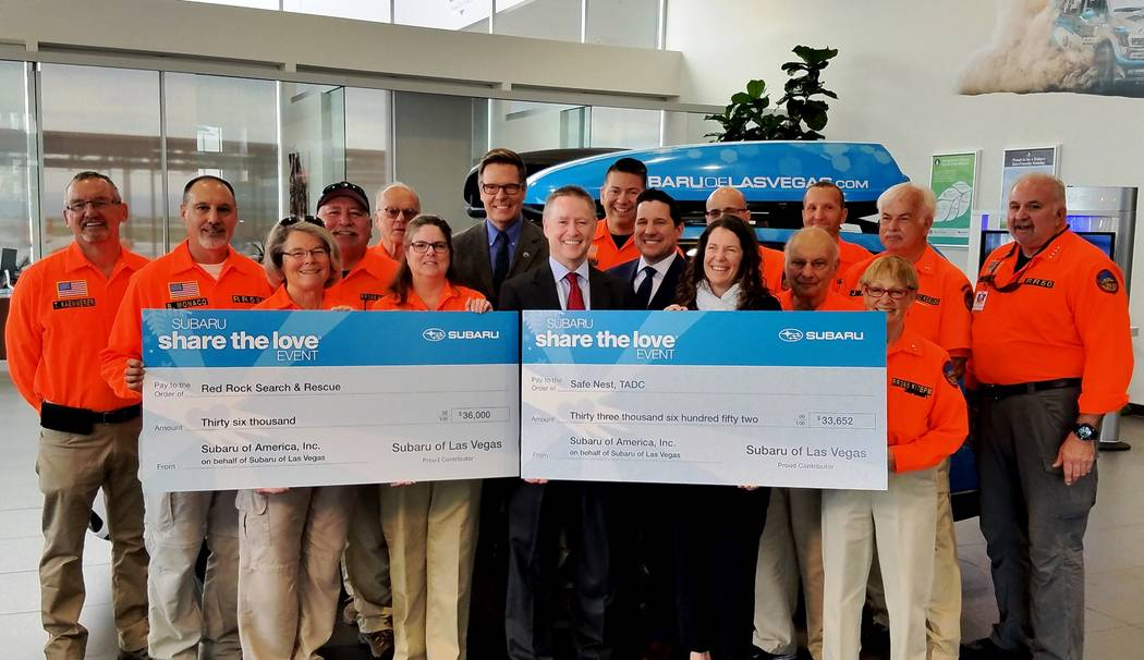 Findlay Two Southern Nevada charities were recently awarded donations from Findlay Automotive Group and Subaru of Las Vegas. The donations were made as part of the 2017 Share the Love 10th annual ...