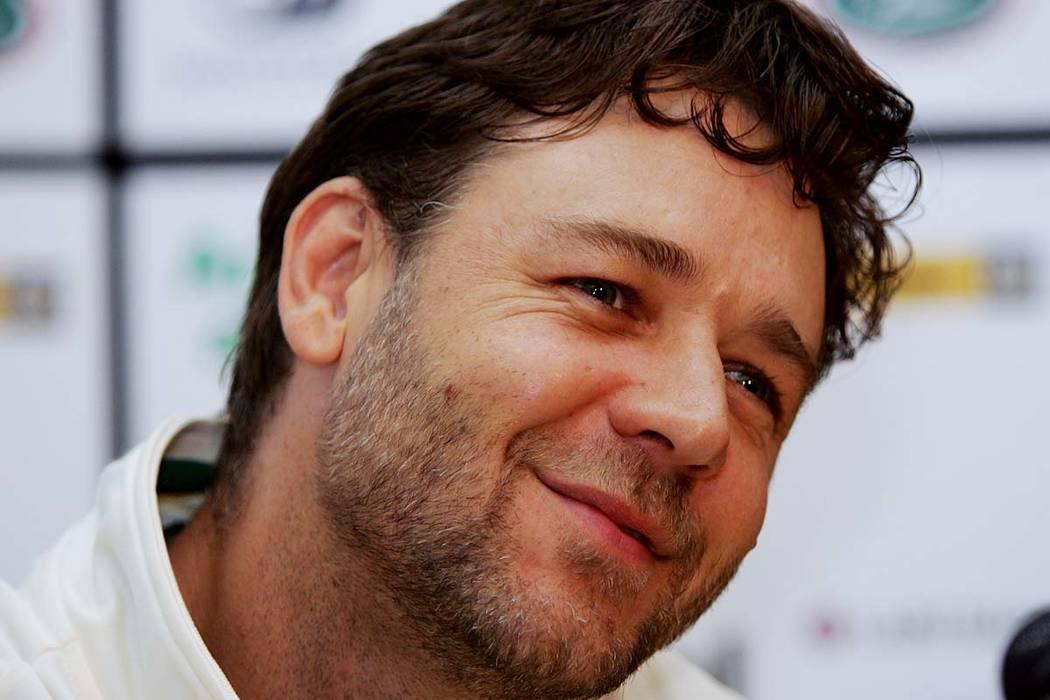 Oscar winning actor Russell Crowe. (Mark Baker/AP)