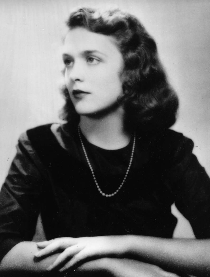 Barbara Pierce, the future Barbara Bush, is shown in her graduation photo from Ashley Hall, a finishing school in Charleston, S.C., in 1943. (AP Photo)