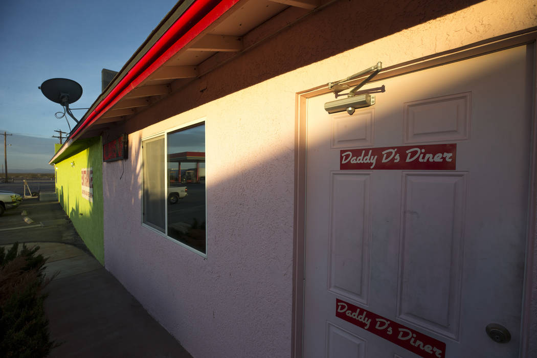 Daddy D's 50's Diner in the Area 51 Alien Center in Amargosa Valley, Nevada, about 90 miles north of Las Vegas, Friday, April 6, 2018. Richard Brian Las Vegas Review-Journal @vegasphotograph