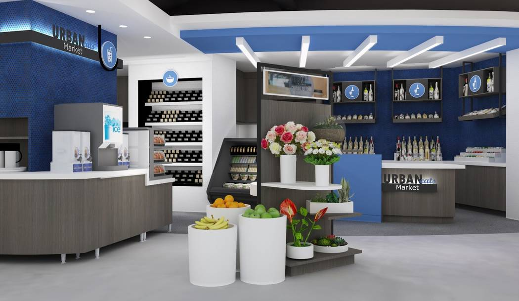 Two Las Vegas men plan to open a series of convenience stores with grocery store options later this year. Called UrbanEats, the store will debut at Allure Las Vegas in June. UrbanEats