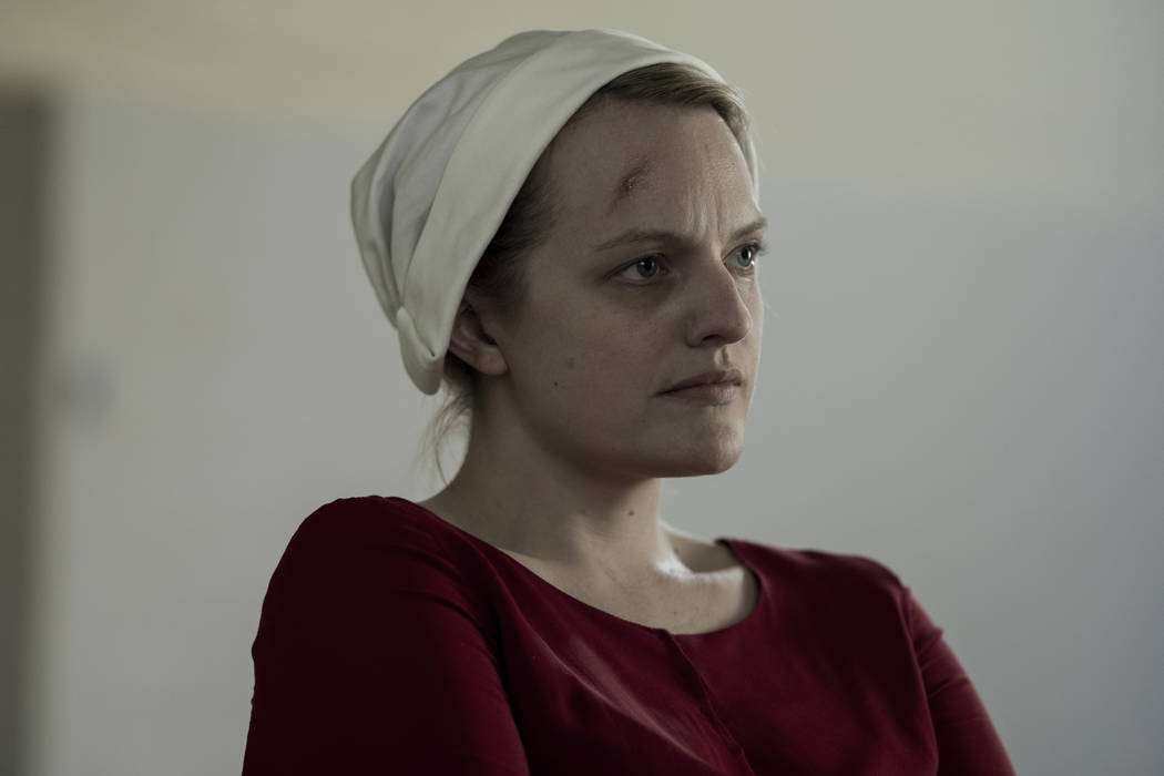"THE HANDMAID'S TALE -- ""June"" -- Episode 201 -- Offred reckons with the consequences of a dangerous decision while haunted by memories from her past and the violent beginnings of Gilead. ..."