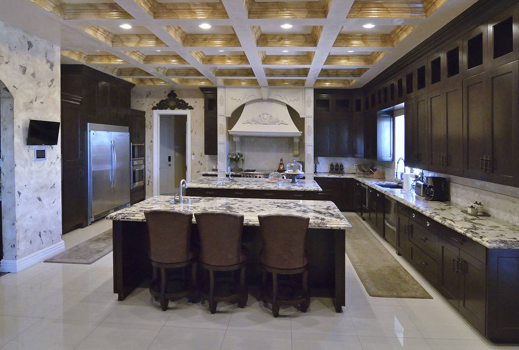 The kitchen has two islands and a butler's pantry. (Bill Hughes Real Estate Millions)
