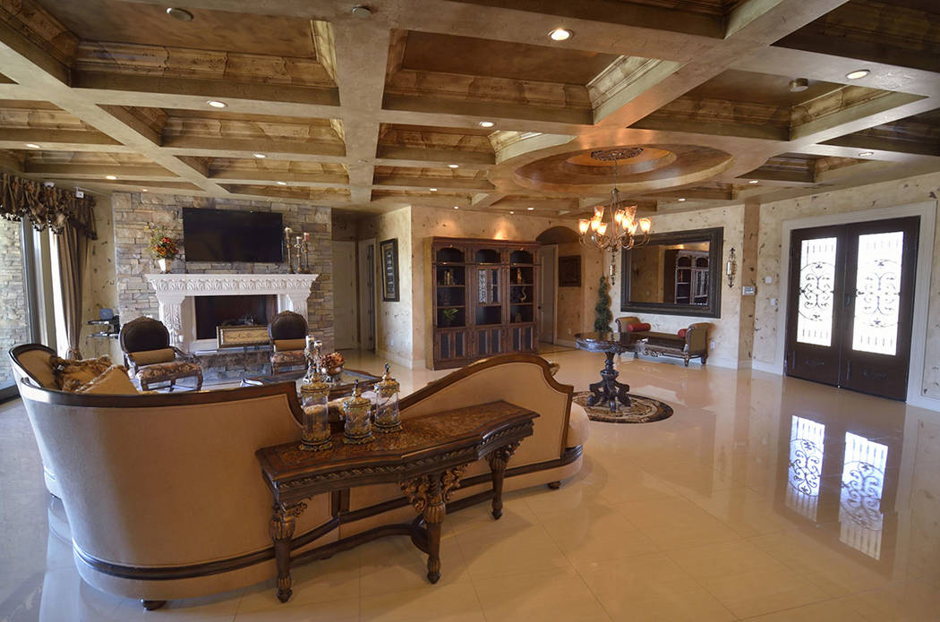 "When remodeling his Lone Mountain home, Brett Raymer of ""Tanked"" opted for a homey Tuscan design instead of the popular modern look. (Bill Hughes Real Estate Millions)"