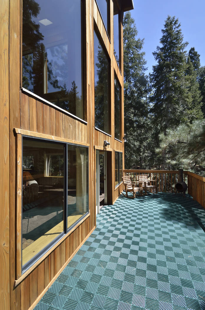 The home has three decks to enjoy the outdoors. (Bill Hughes Real Estate Millions)