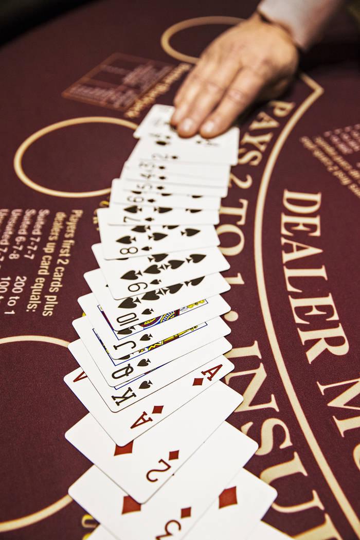 MGM Resorts InternationalÕs GameSense program promotes responsible gambling. Photo taken on Thursday, April 19, 2018, at MGM Grand hotel-casino, in Las Vegas. Benjamin Hager Las Vegas Review- ...