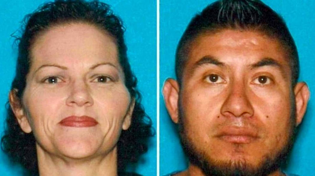These undated photos provided by the Hanford, Calif., Police Department show Stacie Mendoza and her husband Jose Mendoza. Authorities said they have arrested the couple in the torture and murder o ...