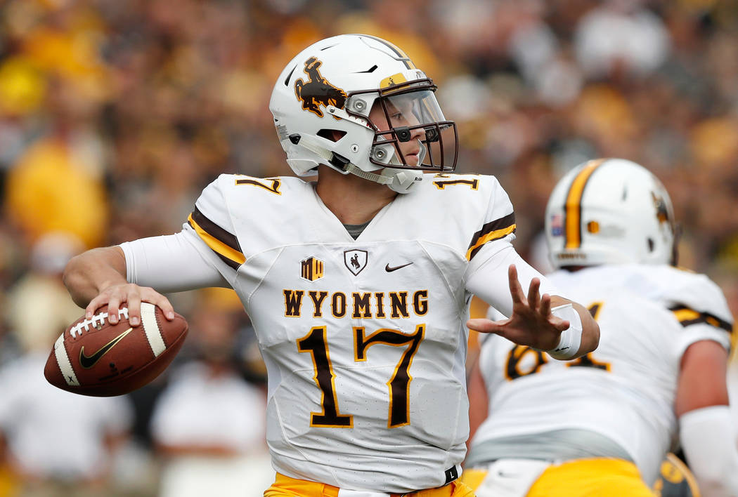 ada4d119fe6 6 QBs taken in Review-Journal's latest NFL first-round mock draft ...