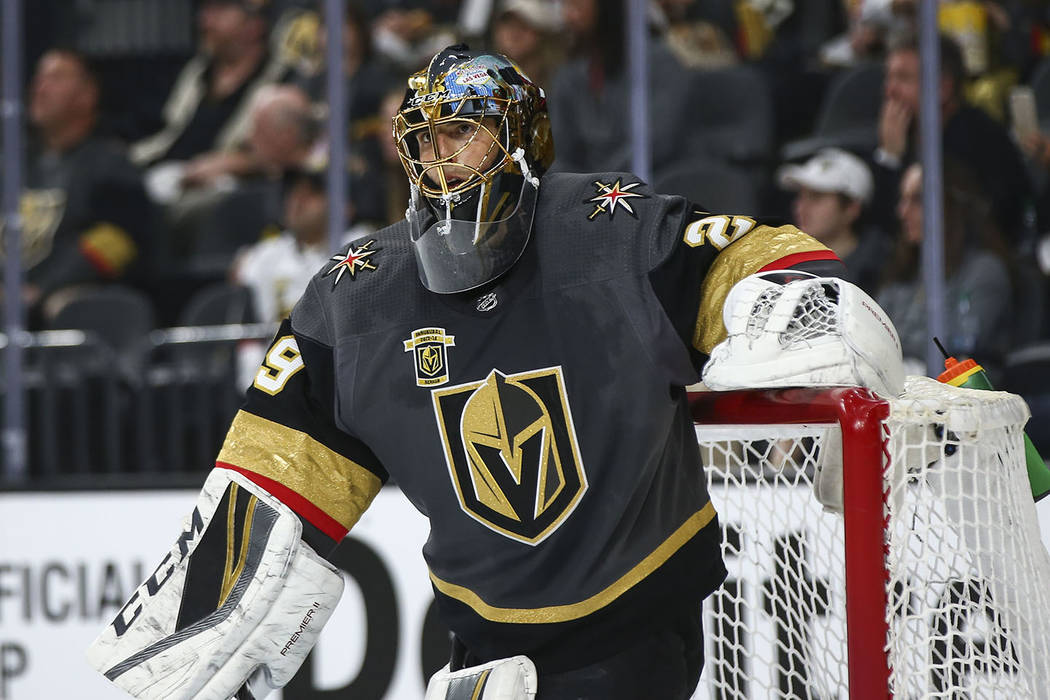 Golden Knights' Marc-Andre Fleury Silences Postseason Critics